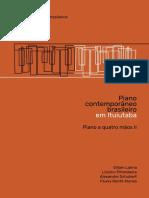Piano em Ituiutaba - Piano a 4 maos II, vol. 13