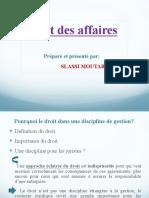 Intro Droit Affaires pdf