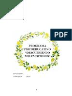 PROGRAMA PSICOEDUCATIVO 1