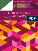 CIÊNCIAS SOCIAIS APLICADAS