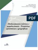 Deslocamentos Teóricos e Populacionais.
