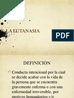Eutanasia en El Peru