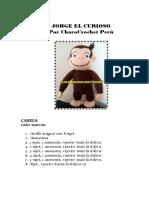 Patron Jorge El Curioso Charocrochet