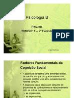 Resumo de Psicologia - 2º Período