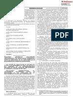Precedente Administrativo sobre la aplicación de la caducidad en el procedimiento trilateral sancionador