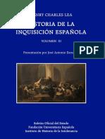 Historia de La Inquisicion Española Volumen III