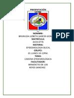 Cadena Epidemiologica de La Caries Dental