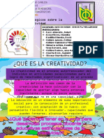 Enfoques Pedagogicos Sobre La CREATIVIDAD