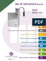 impressora 9042  - Instruction manual - it