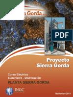 Curso Suministro Eléctrico - Distribución Planta Sierra Gorda
