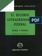 Palacio, Lino Enrique - El Recurso rio Federal