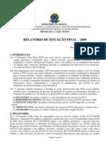 relatório calha norte 2009