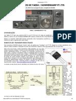 Modificações FT-77S