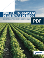 Product Offering Brochure Spanish