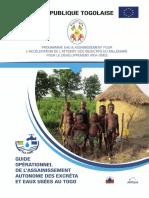 Guide Operationnel de l Assainissement Autonome Des Excretas Et Eaux Usees Au Togo 2016