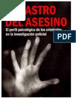 Rastro Del Asesino Libro