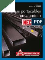 Bandejas portacables en aluminio