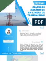 Cálculos Mecánicos en Líneas de Transmisión