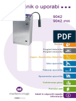 impressora 9042  - Instruction manual - sl