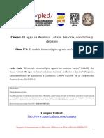 Clase 4 El Modelo Biotecnológico Agrario en América Latina