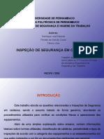 Inspeção de Segurança Em Caldeiras (Henrique, Renato & Tibério) - 03524 - E 1