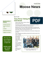 Aurora Campus Moose News - March 15