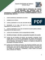 -Orden Del Dia 29-Mar-2011 ORD[1]
