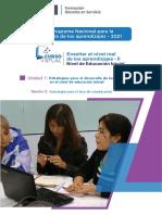 Estrategias para el desarrollo de las competencias en el nivel de educación inicial