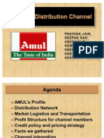 AMUL's Distribution Channel