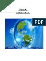 A Distribuição de Água No Mundo
