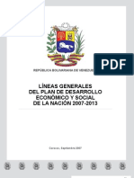 Lineas Generales 2007 2013