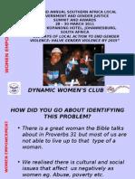 Women Empowernment Dynamic Women's Club Mm 270311