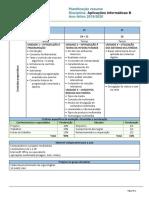 12ºANO Aplicações Informaticas B PlanResumo