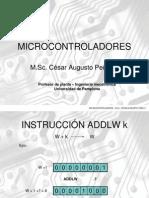 Microcontroladores  3ra Parte
