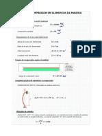 Diseño a compresión y flexo compresión
