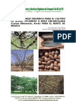 Plan de manejo orgánico para el cultivo del nogal pecanero