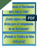 EL MATRIMONIO PERMANENTE