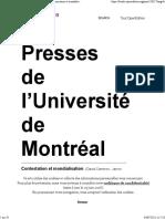 Contestation Et Mondialisation - Chapitre 5. Communication Et Mondialisation Un Défi Pour Les Politiques Publiques - Presses de l'Université de Montréal