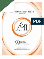 Guia do PNLD 2021 - Objeto 2 - Área - Ciências Humanas e Sociais Aplicadas