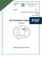 My Fav Character 2019 2020 CAEJ Forum