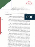 Reglamento Interno Personal GAM Potosí