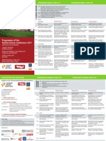 Programme of 15th international Passive House Conference in Innsbruck 2011