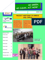 GO GREEN, GO CLEAN, ACT NOW  E JOURNAL 2
