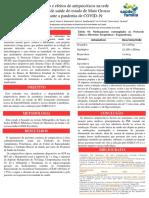 Manejo e efeitos de antipsicóticos na rede  pública de saúde do estado de Mato Grosso  durante a pandemia de COVID-19