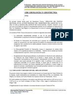 ESTUDIO GEOLOGIA Y GEOTECNIA FINAL