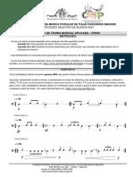 Prova teórica e prática de Piano