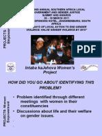 PROJECTS Presentation- Women Empowerment- Faith