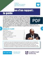 G009FR La Redaction d Un Rapport Le Guide Online