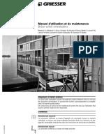 Manuel Dutilisation Et de Maintenance Brise Soleil Orientables