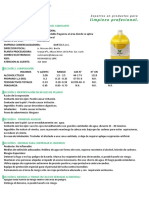 5 - Msds - Perfumador - Aroma Floral 2016